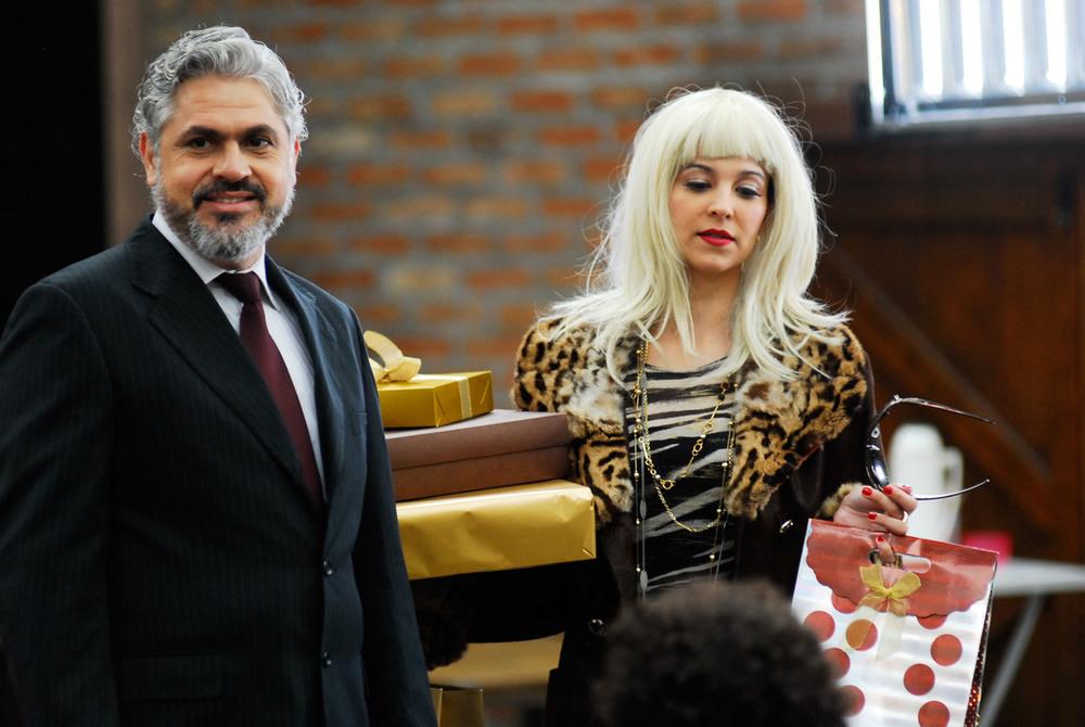 Laerte Mello e Vanessa Balsalobre