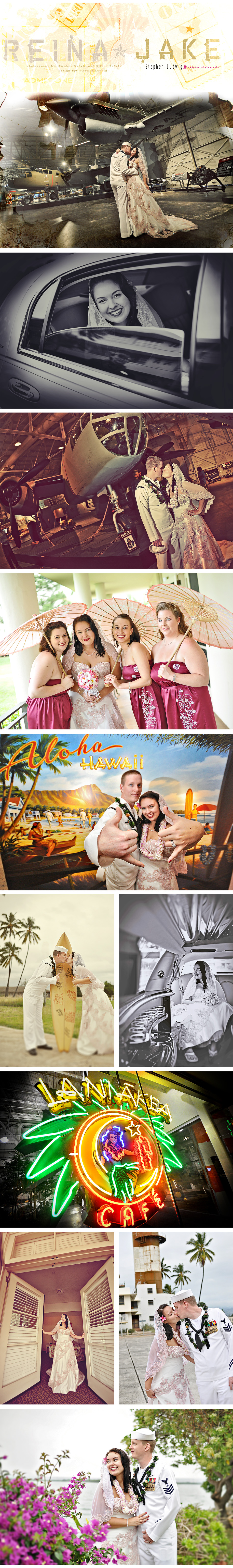 Stephen Ludwig Wedding Photography - Pearl Harbor Wedding - Part 1