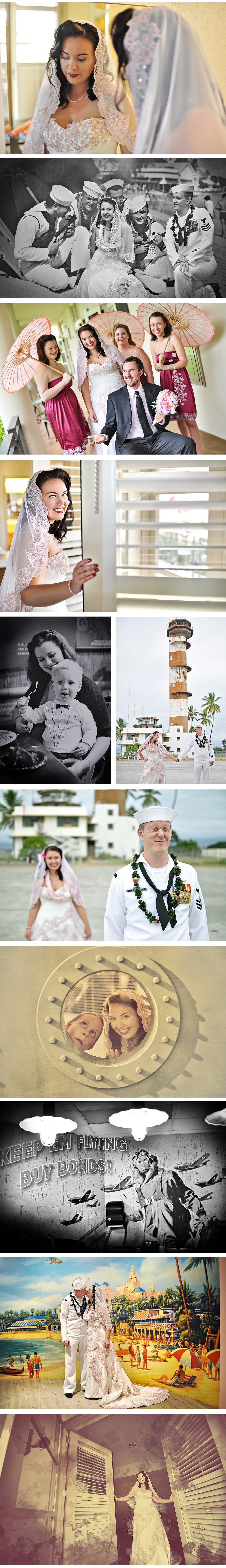 Stephen Ludwig Wedding Photography - Pearl Harbor Wedding - Part 2
