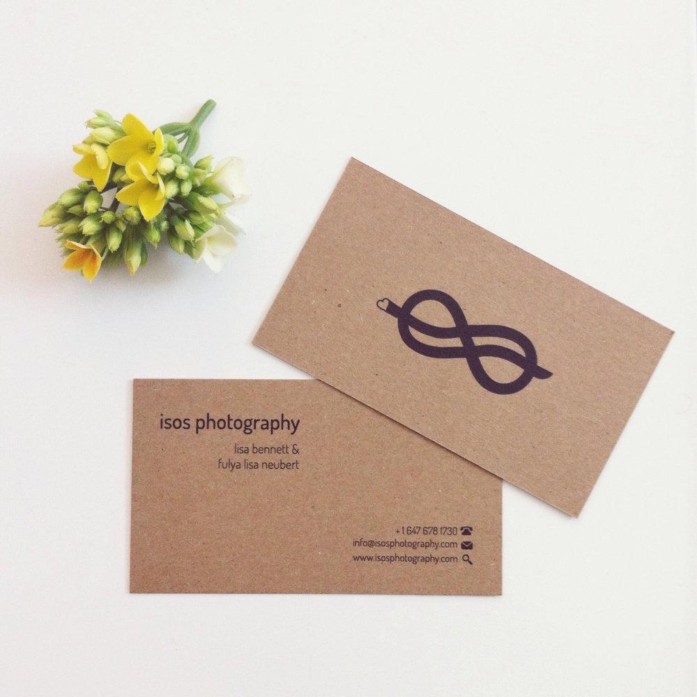 Toronto Wedding Photographer | Our Business Cards! — isos ...