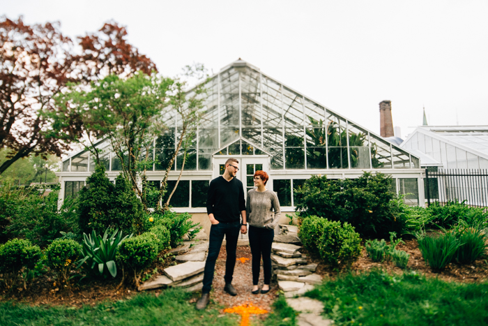 Toronto wedding photographer - allan gardens