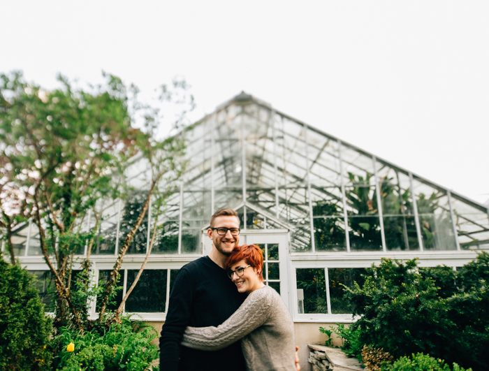 Toronto Engagement Photographer - Allan Gardens