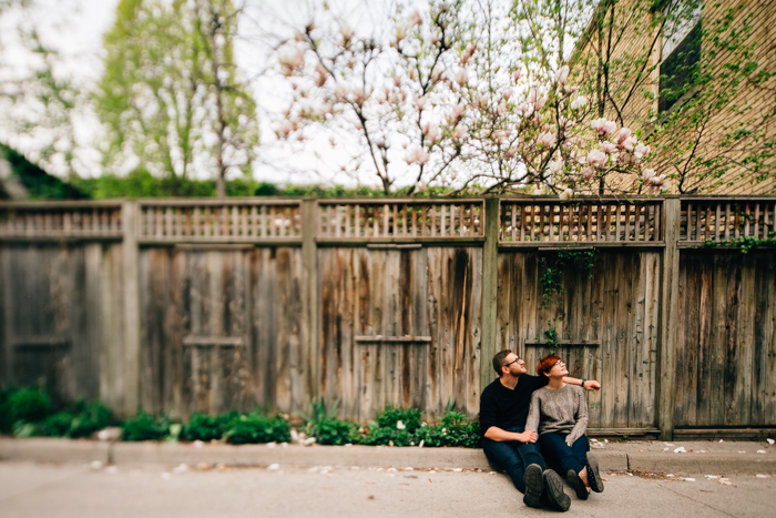 Toronto engagement Photographer - cabbagetown