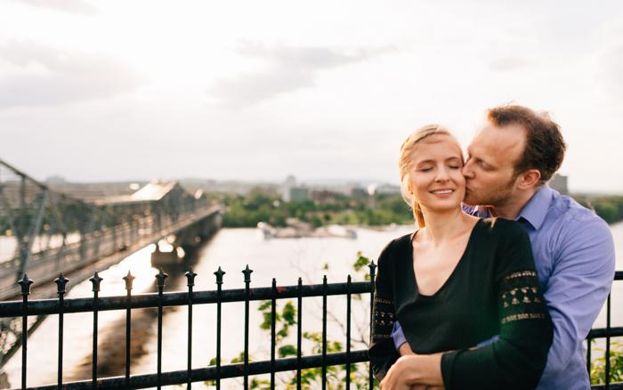 Romantic Engagement Shots - Ottawa Wedding - isos photography