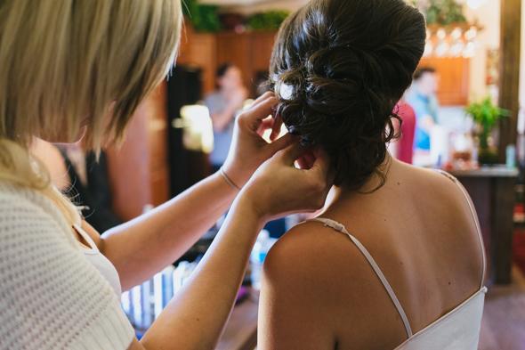 Bride Getting Ready Shots - wedding photographer isos photography