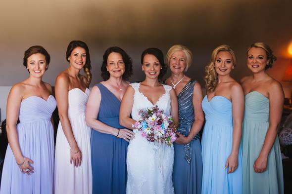 Bridesmaids and Bride Portraits - destination weddings
