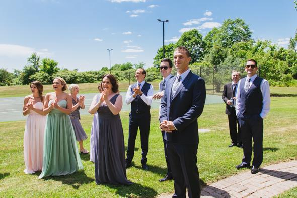Wedding First Look - isos photography toronto