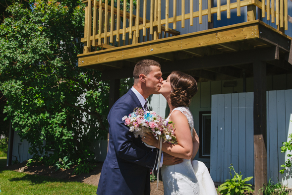 Groom First Look - toronto wedding photographer