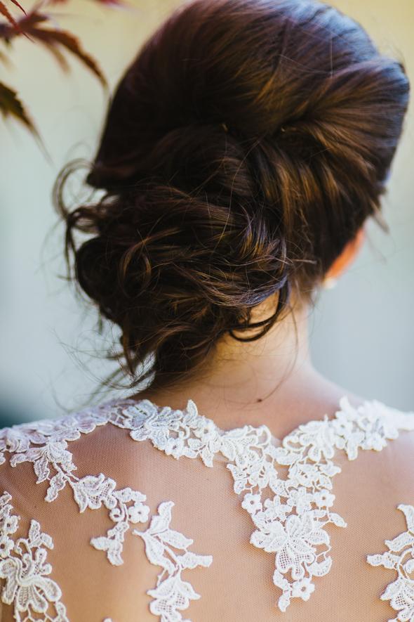 Wedding Dress Details - isos photography toronto