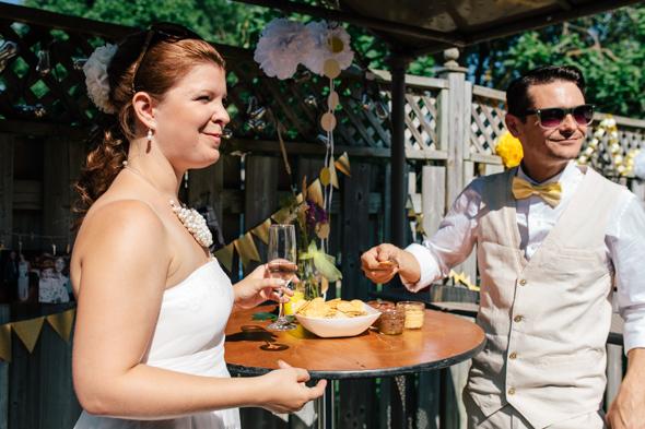 Backyard Wedding Photographer - isos photography