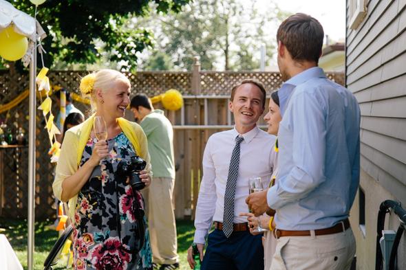 Casual Wedding Party Toronto - isos photography