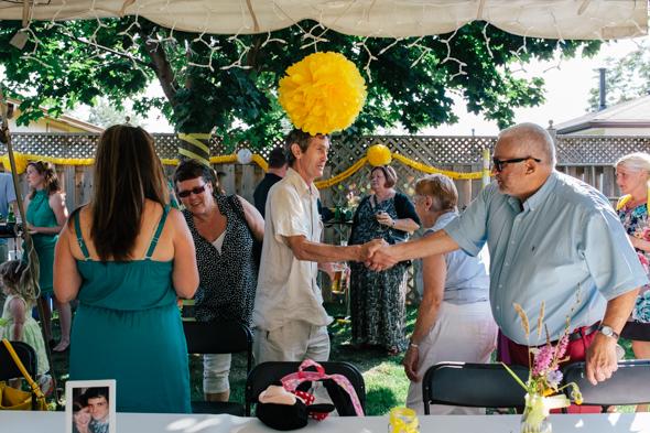 Toronto Backyard Wedding venues - isos photography