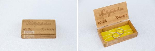Custom Wedding Ring Box - isos photography