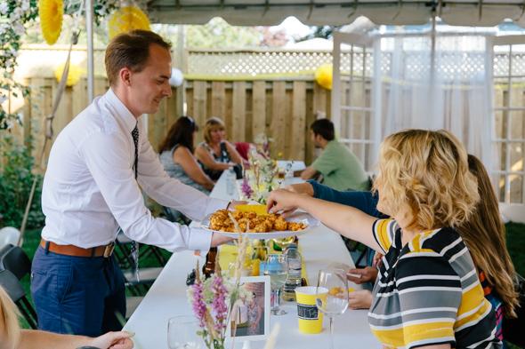 Casual Wedding Reception Photos - isos photography