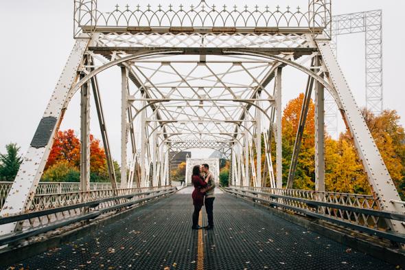Ottawa Pre-Wedding Photographer Autumn Urban Session