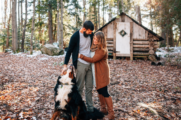 Forest Elopement Photography Muskoka