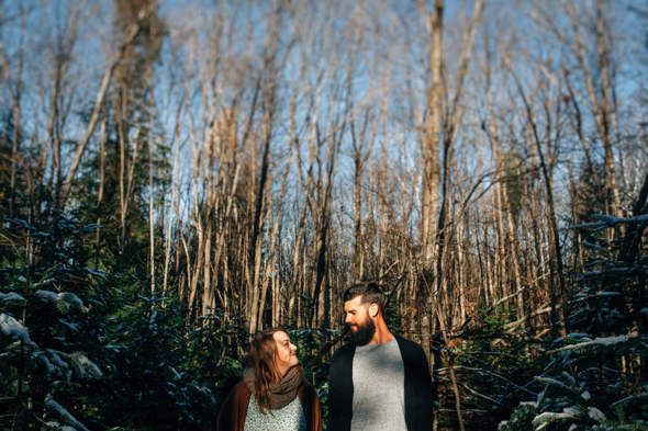 Forest Engagement Toronto - isos photography