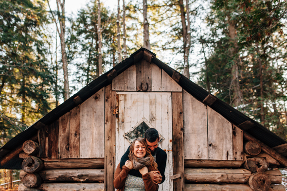 Engagement in Muskoka - isos photography