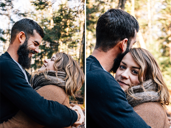 Happy Natural Engagement Photos - isos photography