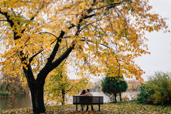 Ottawa Fall Engagement - isos photography
