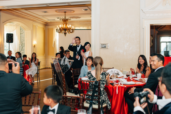wedding dinner photography