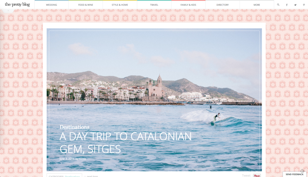 The Pretty Blog - A Day Trip to Catalonian Gem, Sitges