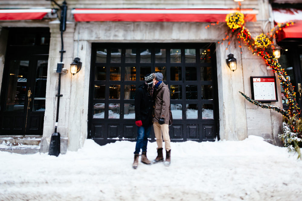 Old Montreal Engagement LGBT Wedding Canada