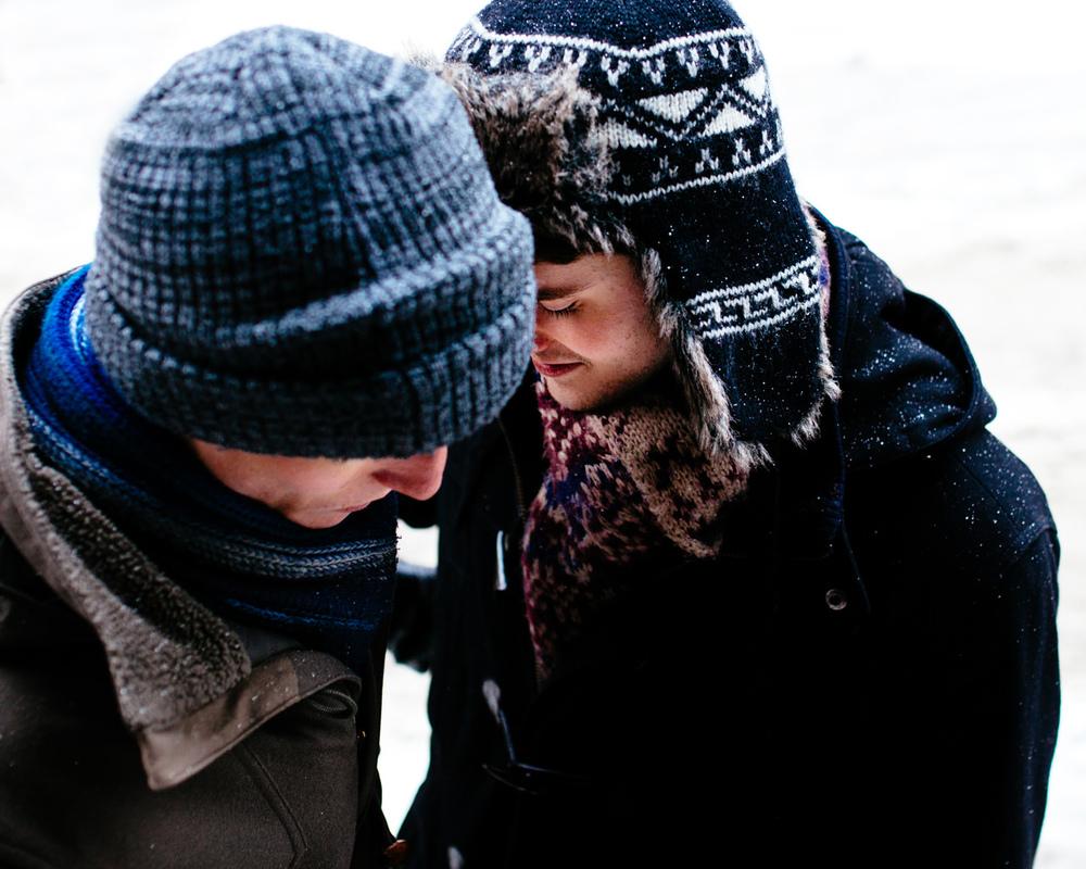 Montreal Winter Wedding Canada Elopement