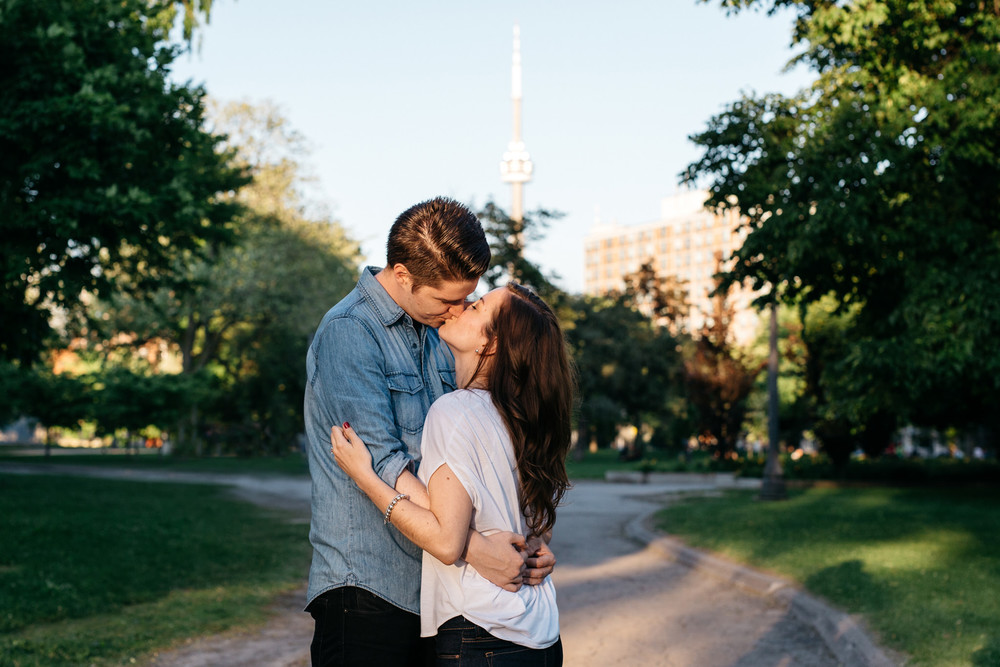 Trinity Bellwoods Engagement Photos