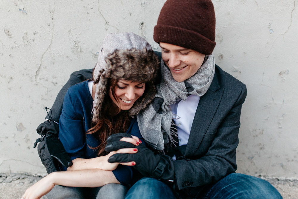 Queen West Engagement Photographer Toronto