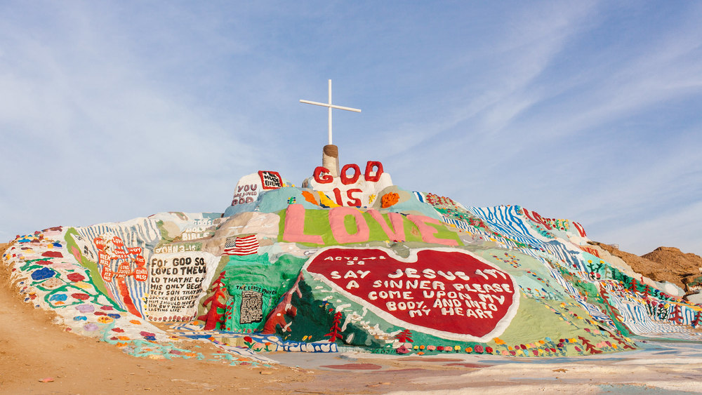 Salvation Mountain Road Trip