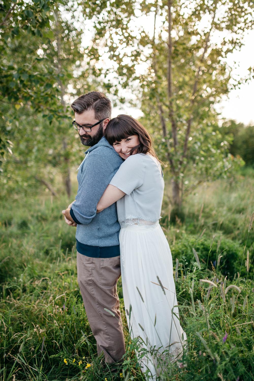 Romantic Toronto Engagement Portrait Photography