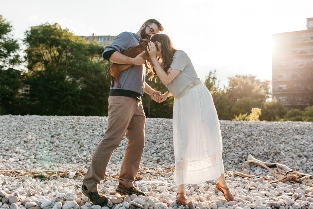 Toronto Wedding Photographer Lakeside Engagement