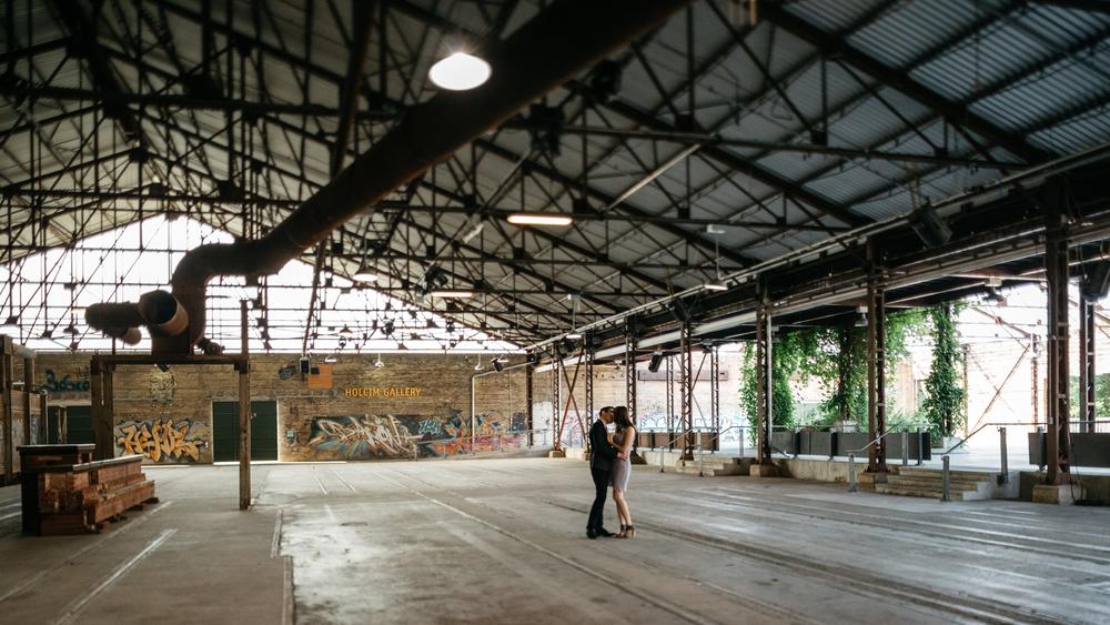 Don Valley Brick Works Toronto Pre-Wedding