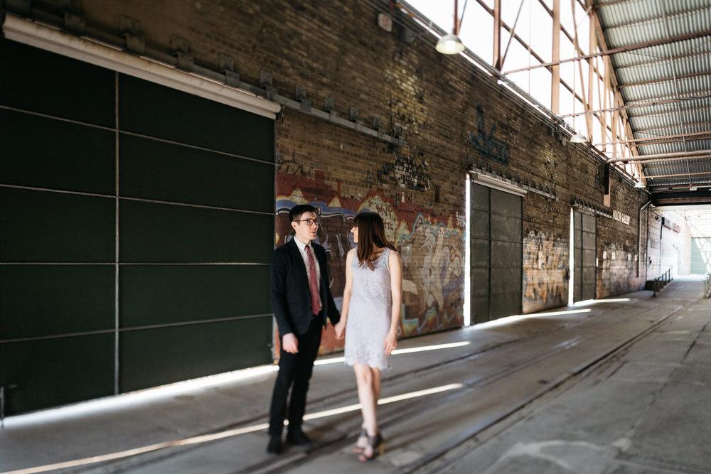 Evergreen Brickworks Engagement Toronto