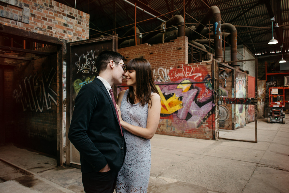 Industrial Engagement Photos Toronto