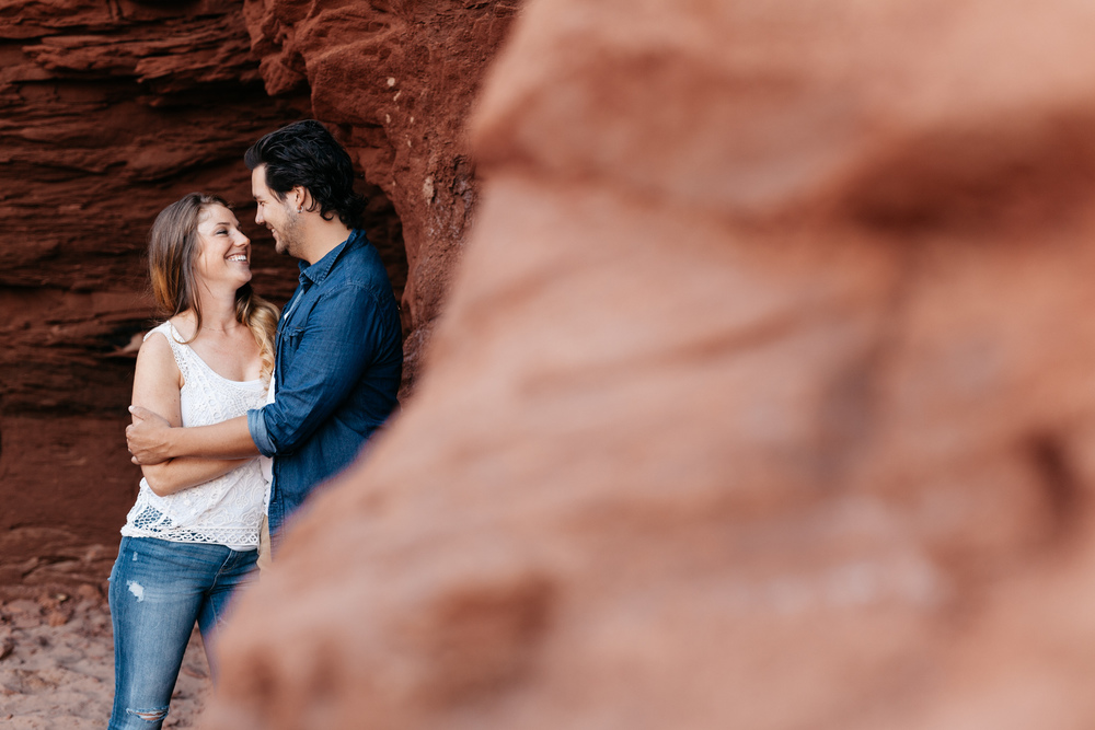 Thunder Cove Prince Edward Island Engagement Session