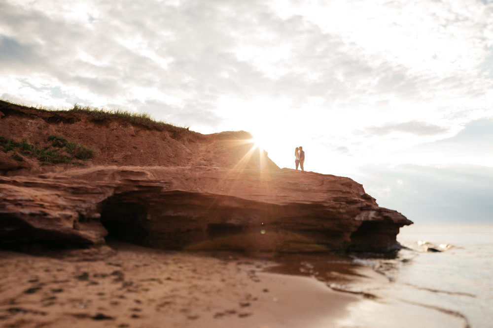 Prince Edward Island Intimate Couple Session Beach