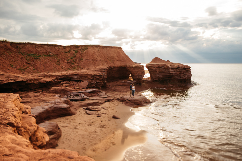 PEI Wedding Atlantic Canada Engagement Thunder Cove