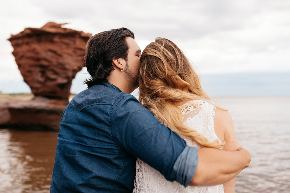 Intimate Prince Edward Island Engagement Photography