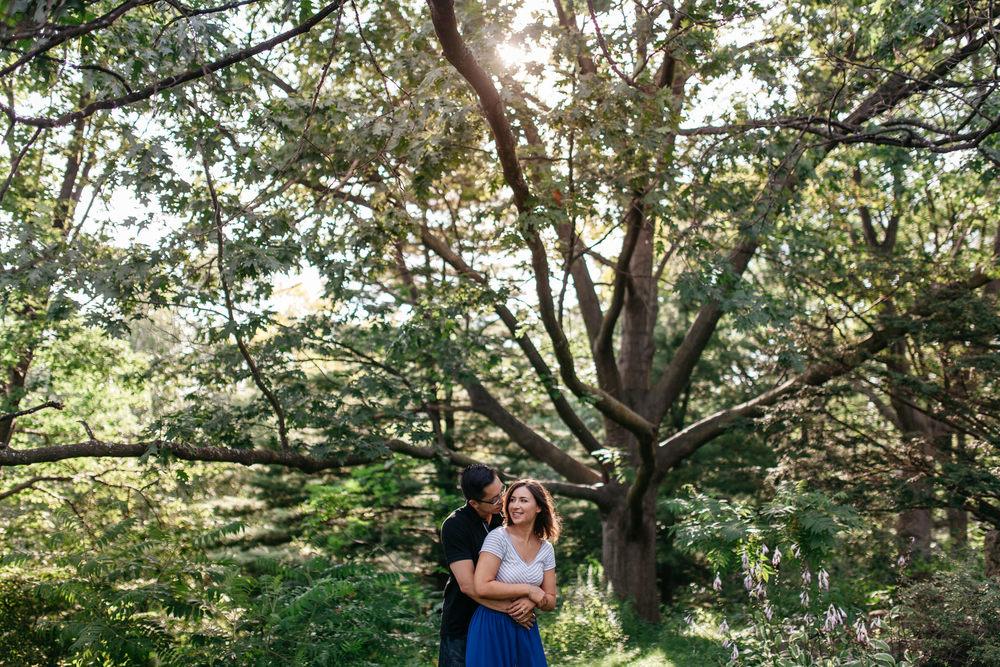 high park toronto engagement portraits