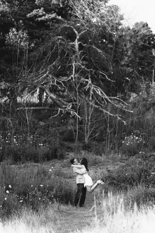 Black and White Wedding Photography Toronto