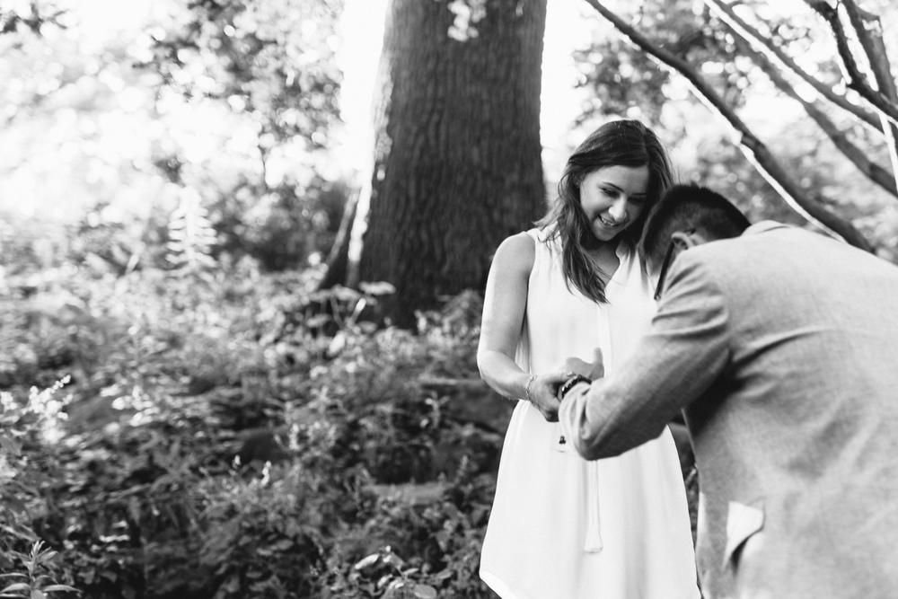 Intimate Engagement Session Toronto High Park