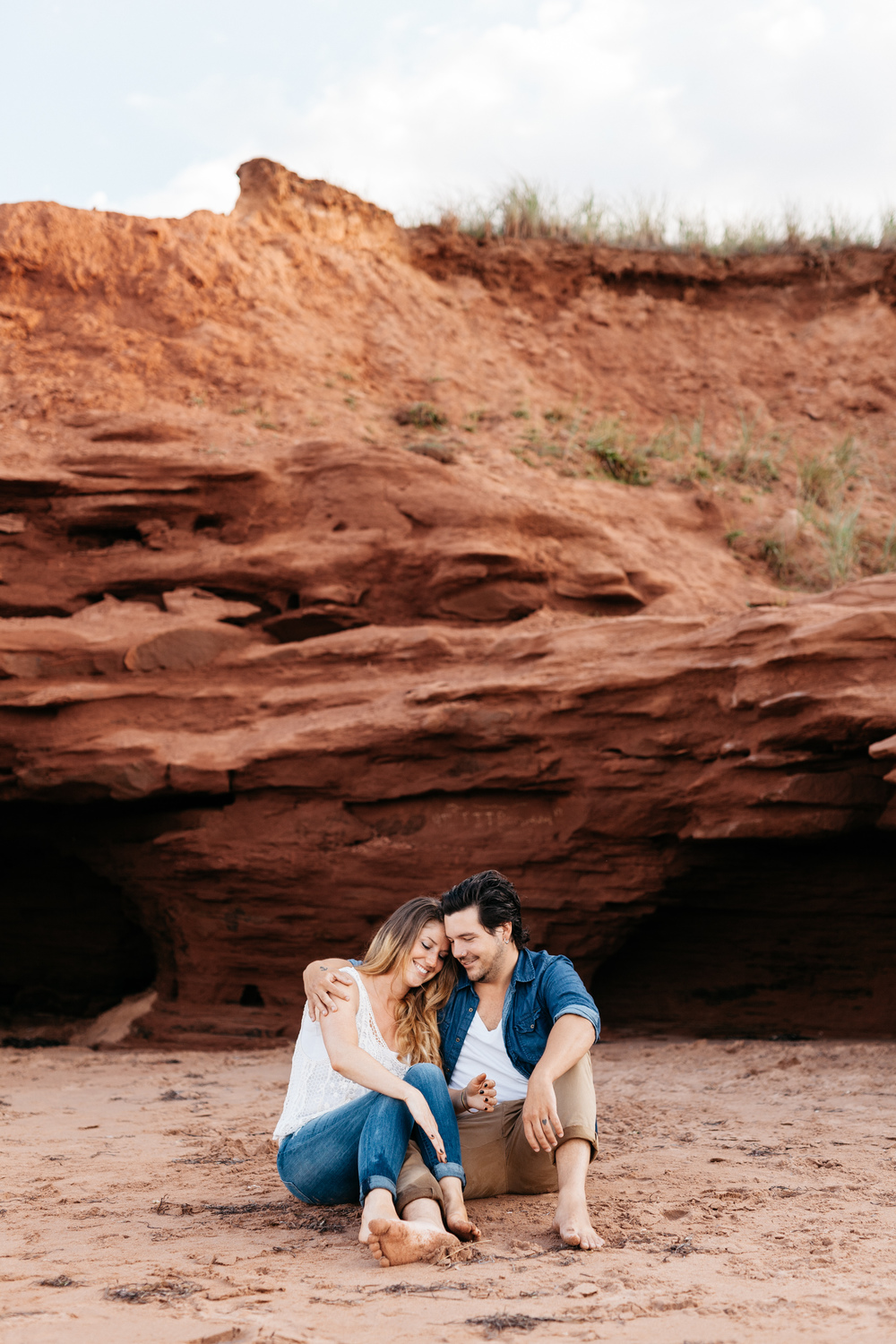 Cute Prince Edward Island Engagement Session
