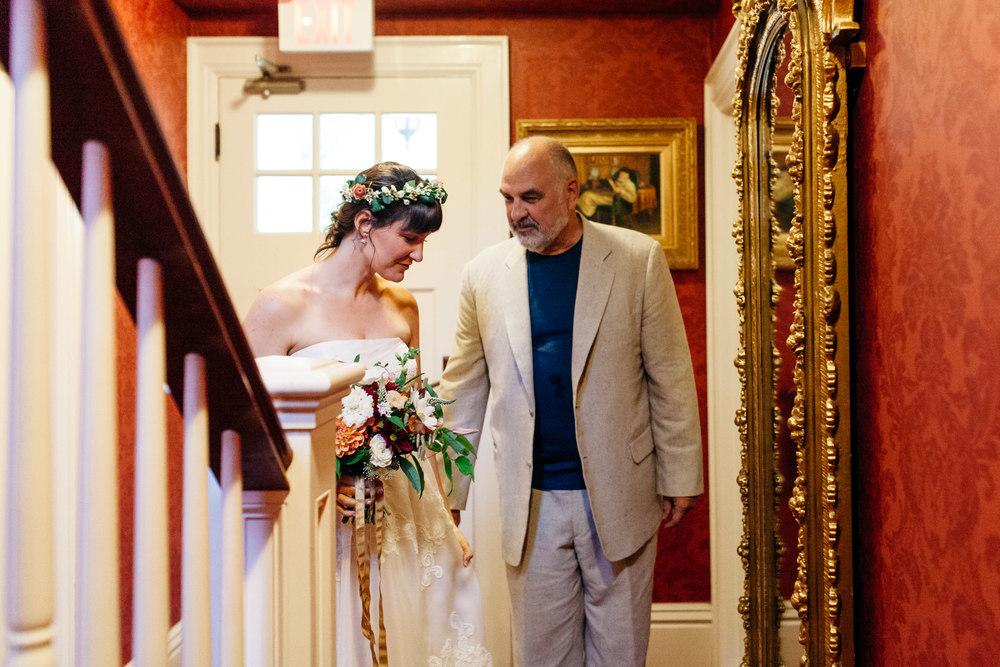 Father of the Bride Oban Inn Wedding