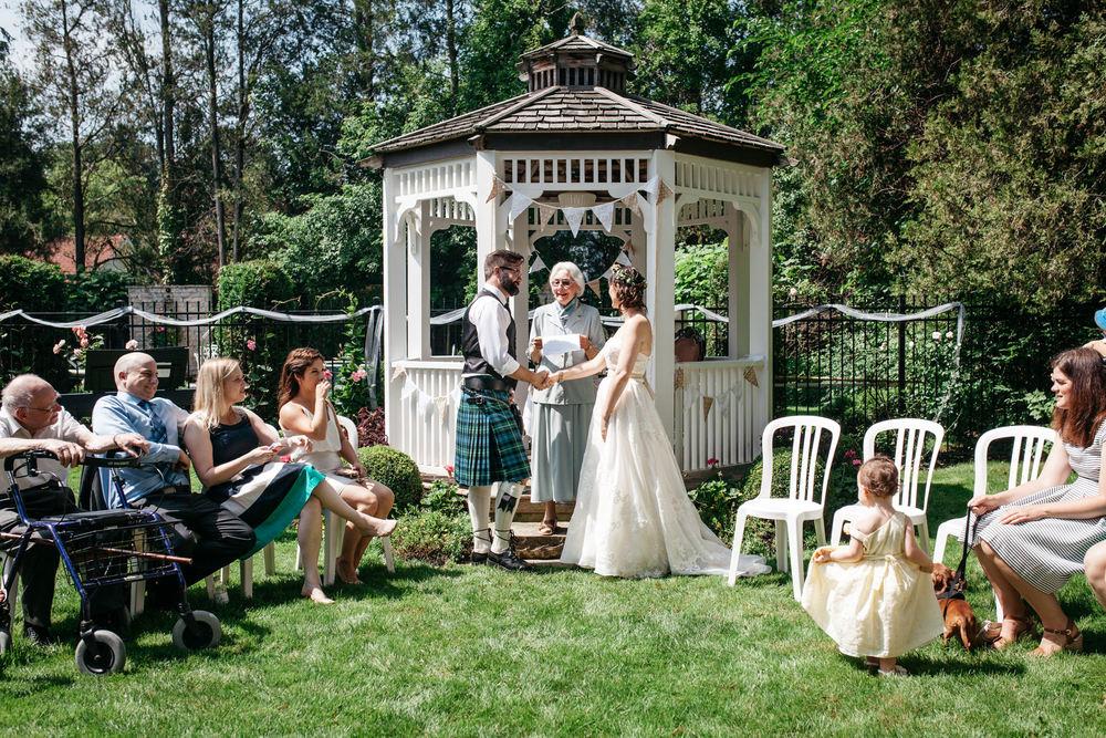 Romantic Brunch Wedding Oban Inn