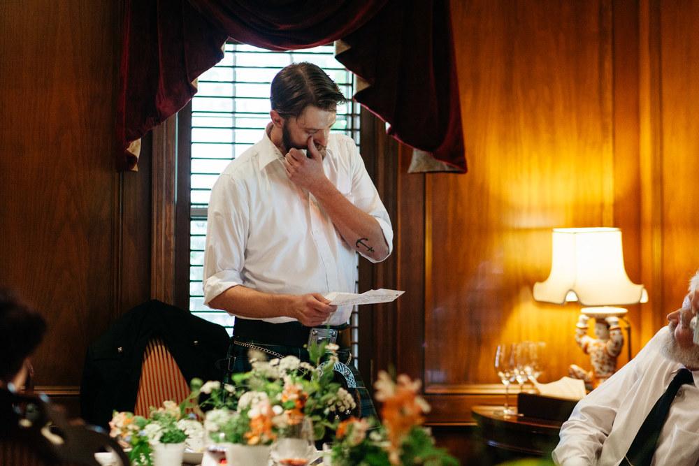 intimate wedding reception toronto