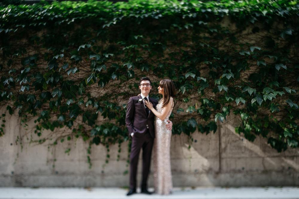 downtown toronto urban wedding photos