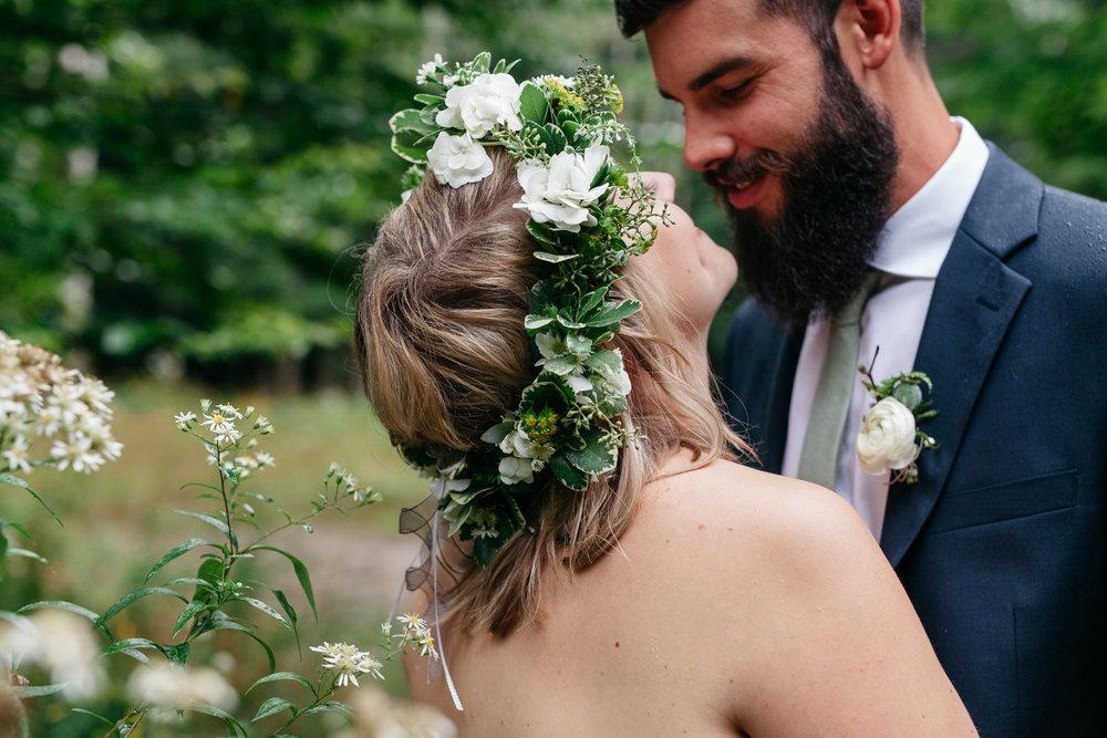 fotografo de bodas muskoka forest
