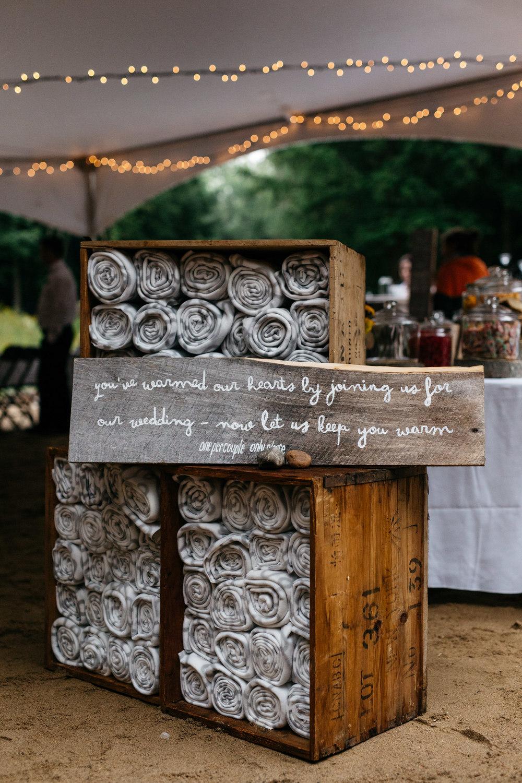 Creative diy wedding details